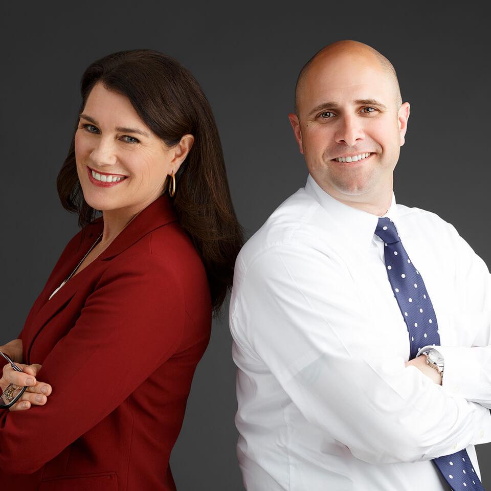 Lisa Tyburski & Scott Tarde
