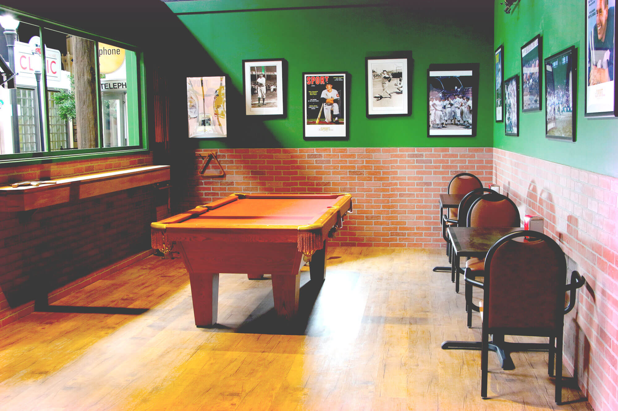 The Pub's Pool Table