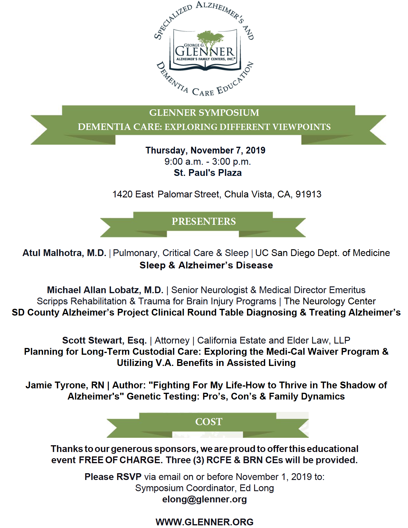November Symposium
